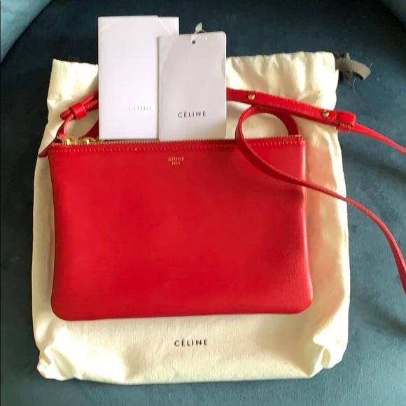 Celine Handbags - Celine Trio bag